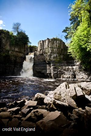 Teesdale & Weardale	including High Force